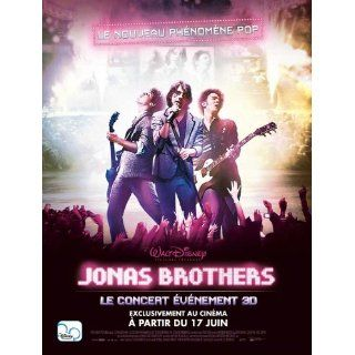 Jonas Brothers The 3 D Concert Experience Movie Poster