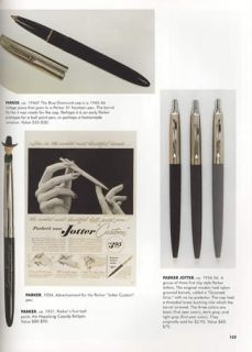 Vintage Ball Point Pens History 1940s Up Collector Price ID Guide