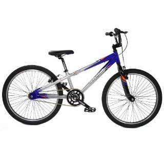 com Tony Hawk HuckJam Series Vibrsonic Boys 24 Inch BMX Bike (Blue