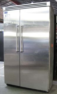VIKING PROFESSIONAL 2 DOOR REFRIGERATOR FREEZER 13603 home type used