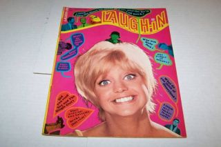 Jan 1969 Laugh in TV Magazine Goldie Hawn