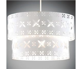Metal Cut Out Ceiling Light Lamp Shade Lighting Pendant