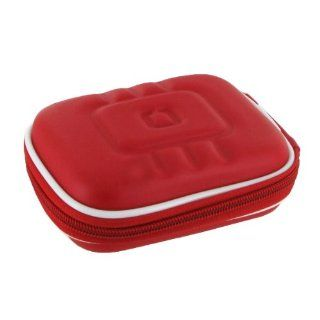 rooCASE (Med EVA Red) Hard Shell Case with Memory Foam for