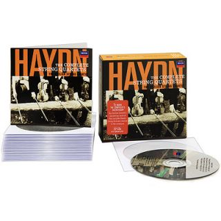 Haydn Complete String Quartets New SEALED Box Set 22 CD 028947812678
