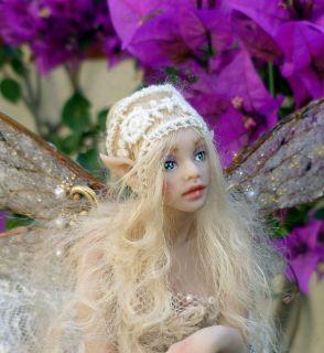 Beautiful Fairy OOAK Hiddleston original doll miniature wings