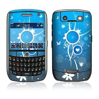 BlackBerry Curve 8900 Decal Skin   Love Peace Everything
