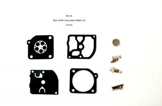 Rebuild Kit for Zama RB 39 Homelite McCulloch Poulan Weedeater