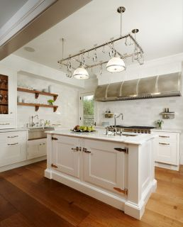 60 White Custom Kitchen Island Smart Trays with Sink Space Great