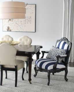 Barclay Butera Lifestyle Sutter Rectangular Dining Table, Lita