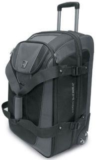 High Sierra A.T. Go 26 Drop Bottom Wheeled Duffel Bag Luggage Gray