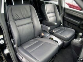2011 Honda CRV Leather Interior Seat Covers Black