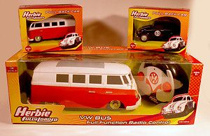 Herbie Fully Loaded VW Bus Radio Control R C Volkswagen Transporter
