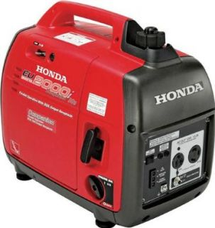 Honda EU2000I Inverter Super Quiet Portable Generator Home Trailer RV