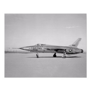 105 Thunderchief Fighter Bomber Aircraft Poster