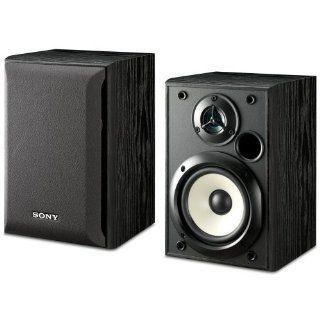 Sony SS B1000 5 1/4 Inch Bookshelf Speakers (Pair