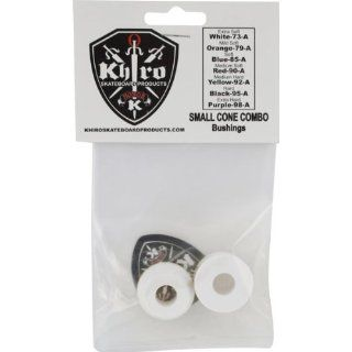 Khiro Small Cone Combo Bushing Set 73a Extra Soft White