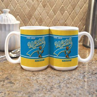UCLA Bruins NCAA 15oz. White Vault Mug (Single Mug