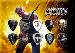 10 Metallica James Hetfield Guitar Picks Master Of Puppets Nola Best