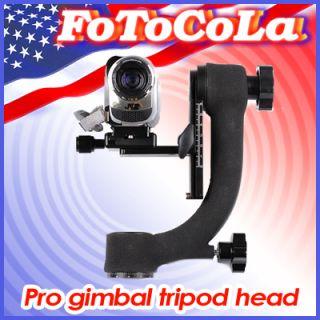 Telephoto Lens Panoramic Tripod Ball Head Gimbal Bracket BK 45