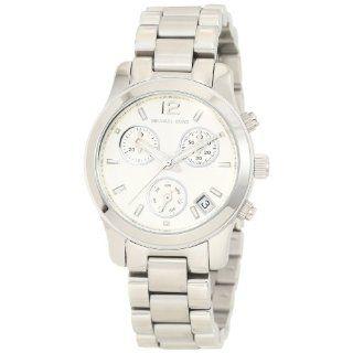 Michael Kors Silver Small Runway Chronograph Watch MK5428 Watches