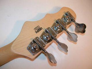 Dean Hillsboro Jr Electric Bass, 3/4 Size, Metallic Red, Dean P Style