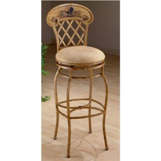 Hillsdale Furniture Swivel Rooster Stool Avail in Counter and Bar
