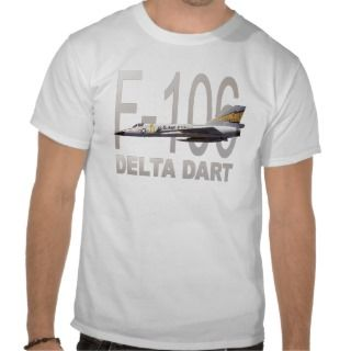106 Delta Dart Fighter Jet Aircraft Tshirts