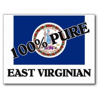 100 Percent East Virginian Postcards