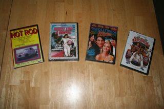 Hot Rod Heart Like A Wheel Hollywood Knights Six Pack DVD Movie