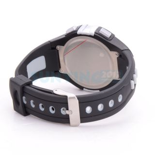 fashion water resistant heart rate monitor pedometer fitness watch
