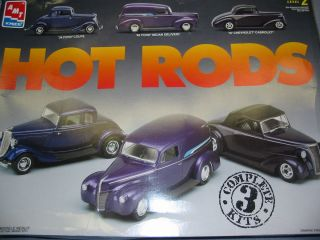 AMT Hot Rods Model Kit