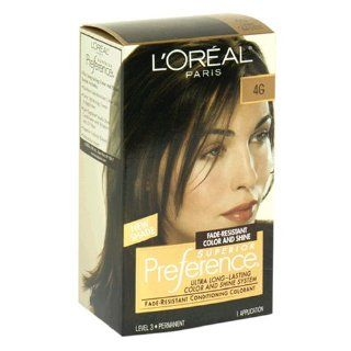 Loreal Superior Preference Hair Color, 4g Dark Golden