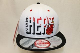 Miami Heat NBA New Era 9Fifty Interchangeable Snapback Hat Cap