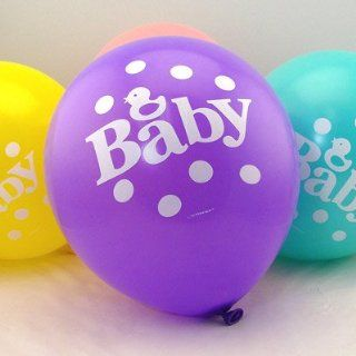 Multi colored Baby Balloons (set of 20) Toys & Games