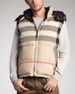 Burberry Brit Reversible Puffer Vest