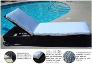 Patio Pool Outdoor Lounge Chaise Chair Lounger Cushion