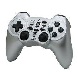 Hori PS3 Wireless Turbo Controller Horipad Used Silver
