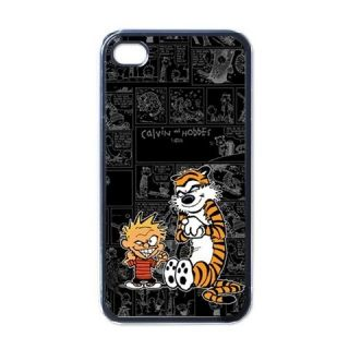 New iPhone 4 Hard Case Cover Calvin Hobbes Funny