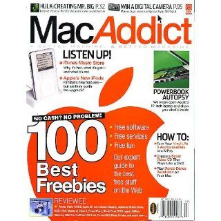 MacAddict July 2003 w/CD 100 Best Freebies, PowerBook Autopsy