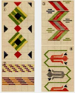 how to build HAND WEAVING Board native Indian designs instructions on