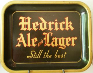Hedrick Ale Lager Beer Tray Hedrick Brewing Company
