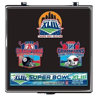 Super Bowl XLIII Steelers vs. Cardinals Dueling Pin Set
