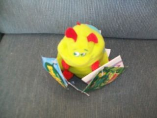 BUGS LIFE HEIMLICH WITH SOUND BEAN BAG PLUSH 9 INCHES