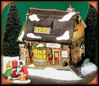 Horsley Christmas Cards New Department Dept 56 Dickens Village D56