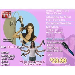 Blo and Go by Laurie Coleman   Portable Hair Dryer Holder