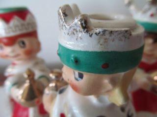 Vintage 1960 Holt Howard Wise Men Man Kings Christmas Candle Holder