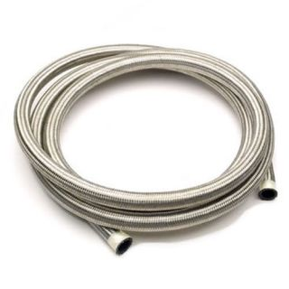 Stainless Steel Braided Hose Rubber Braid Fuel Line Hose Petrol Pipe