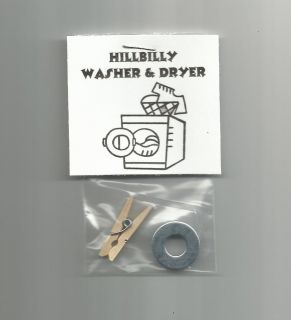 New Hillbilly Washer and Dryer Novelty Gag Gift Red Neck Country