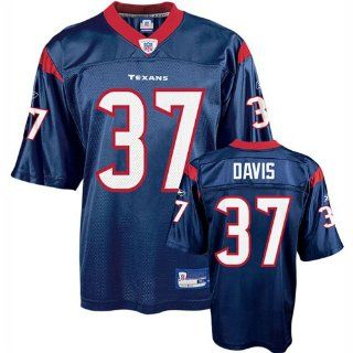 Dominik Davis #37 Houston Texans NFL Replica Player Jersey