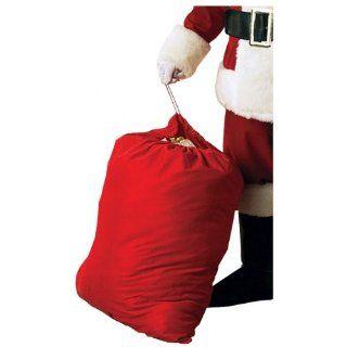 Velour Santa Toy Bag Clothing